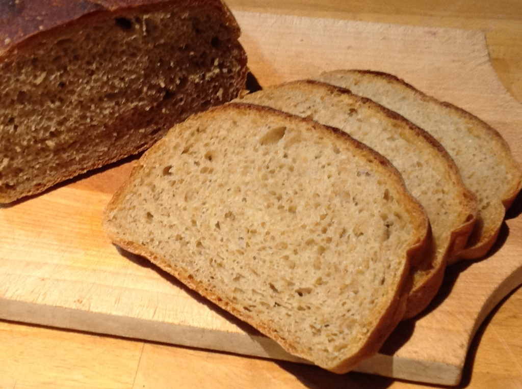 Good crumb, nice crust, and flavor