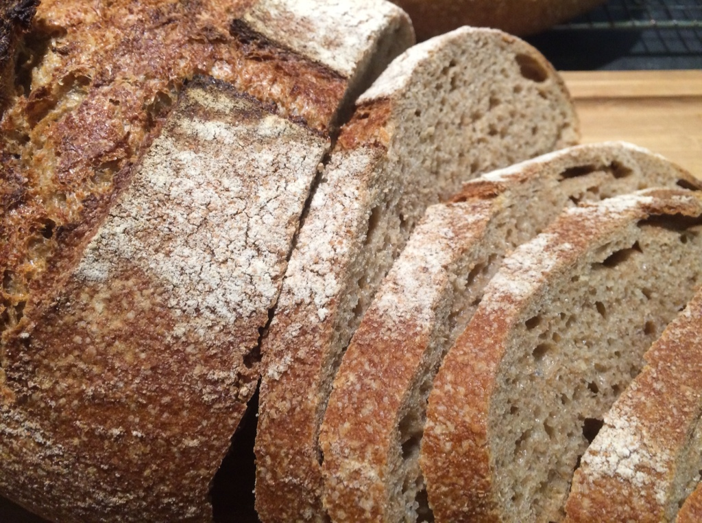 50/50 whole wheat & white whole wheat flours